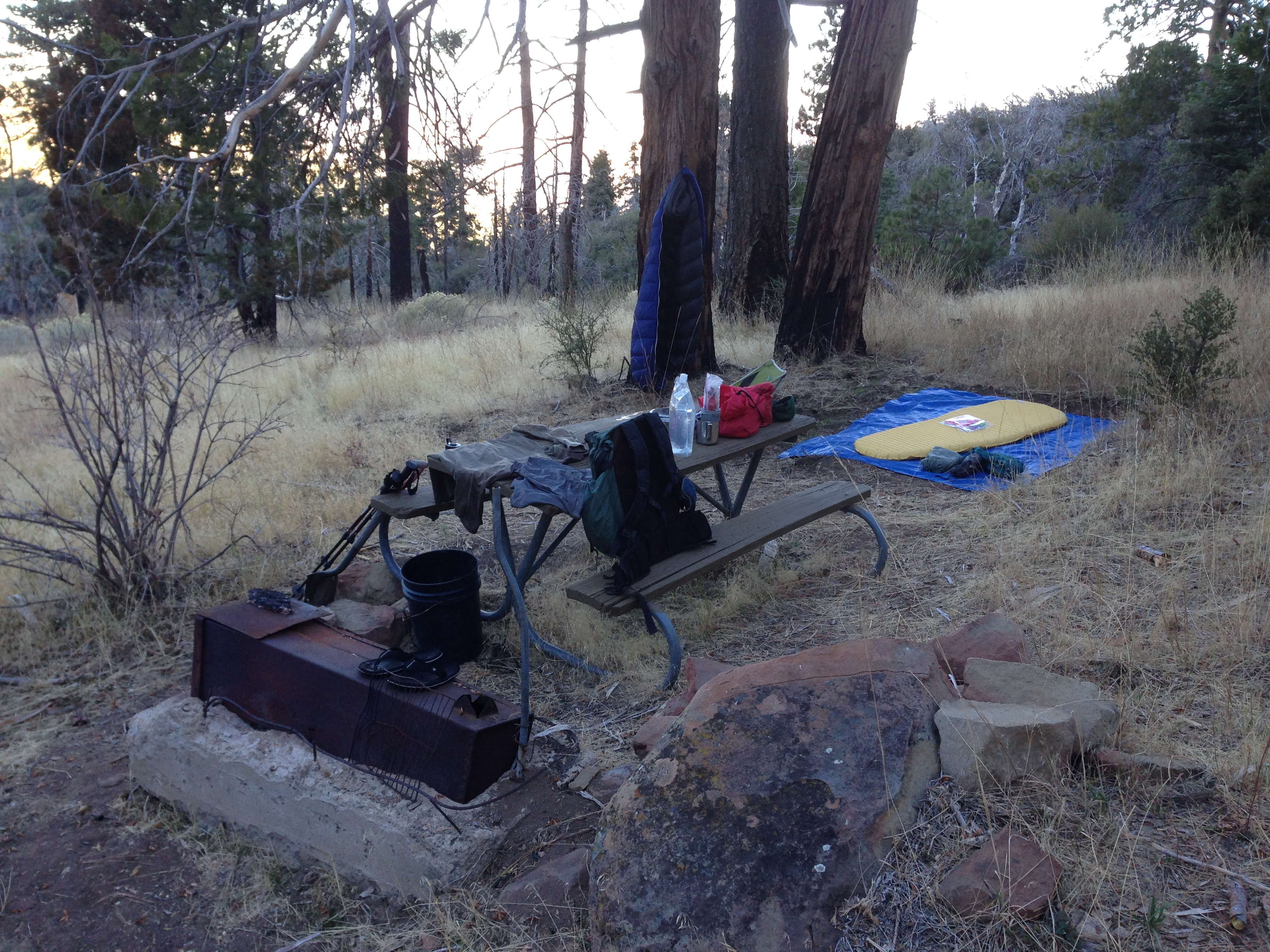 Big Pine Camp - Los Padres | Backpacking, Camping, MTB, OHV