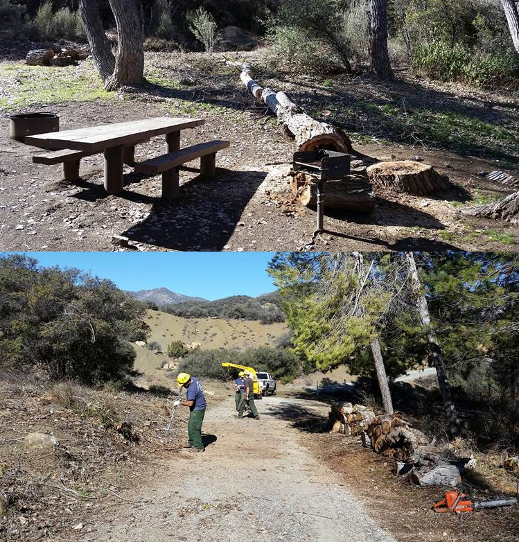 Middle Lion Campground - Los Padres   Backpacking, Camping